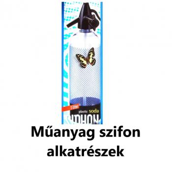 Műanyag szifon